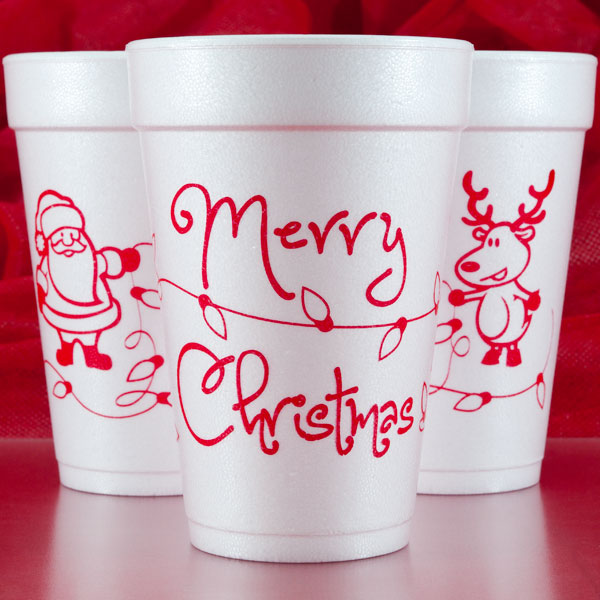 Christmas & Holiday Cups & Party Goods