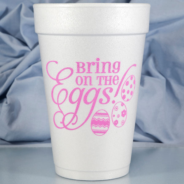 Easter Foam Cups & Napkins