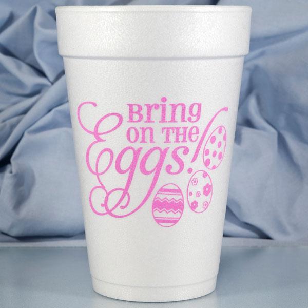 Easter Foam Cups & Napkins