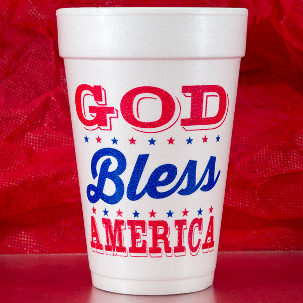 4th of July Cups & Party Goods