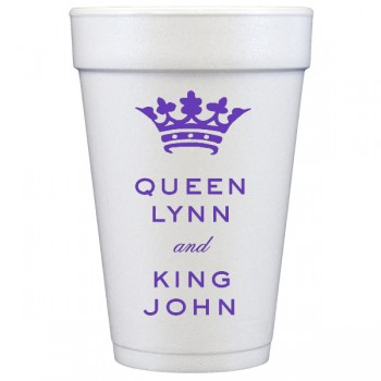 custom 20 oz styrofoam cup | Signature Collection art {Carnival}