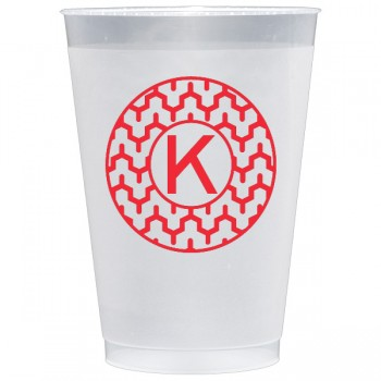 custom frosted plastic shatterproof {frost flex} cup | Signature Collection art {chinese 1}