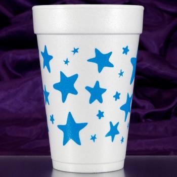 CPF204 stars pre-printed foam