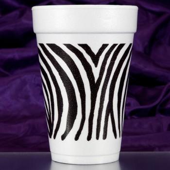 CPF207 zebra pre-printed foam