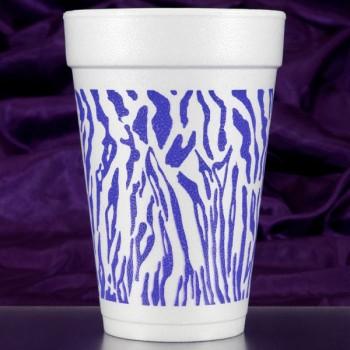 CPF208 tiger pre-printed foam