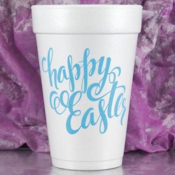 easter cups styrofoam {easter script}|16oz pre-printed | FCE112