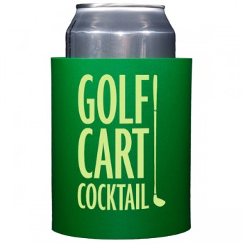 custom personalized soft foam hugger (koozie) | Signature Collection Quip {golf}