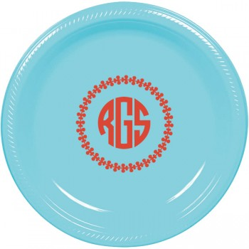 round plate individual