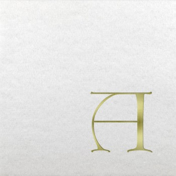 pre-printed linun dieter initials beverage/cocktail napkin