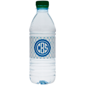 personalized monogrammed vinyl water bottle label