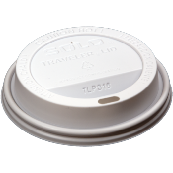 paper cup whtie travel lid