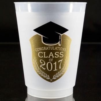 graduation frostflex cups {class} 16oz pre-printed Cup Of Arms PCFG001