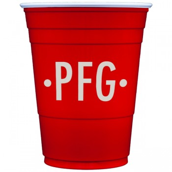 custom red solo cup | Custom Collection monogram {MA-3104}