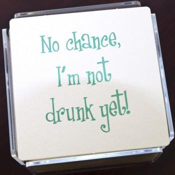 QC2004 drunk humorous coaster