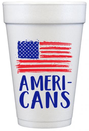 COA203 16oz foam | Ameri-CANS