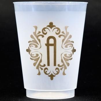 frost flex {shatterproof} bellevue initial cups 16oz