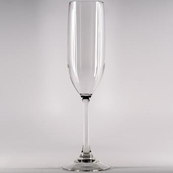 unbreakable plastic polycarbonate champagne flute