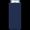 navy blue neoprene slim koozie hugger