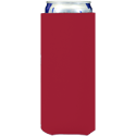red neoprene slim koozie hugger
