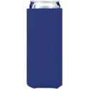 royal blue neoprene slim koozie hugger