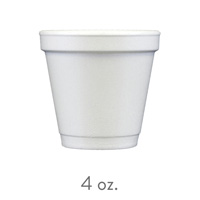 custom styrofoam cups 4 oz