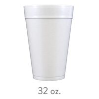 custom styrofoam cups 32 oz