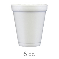 custom styrofoam cups 6 oz