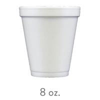 custom styrofoam cups 8 oz