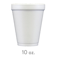 custom styrofoam cups 10 oz