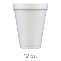 custom styrofoam cups 12 oz