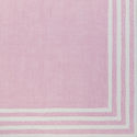 custom strip border pink napkin