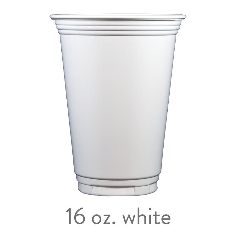 custom white solo cups 16 oz