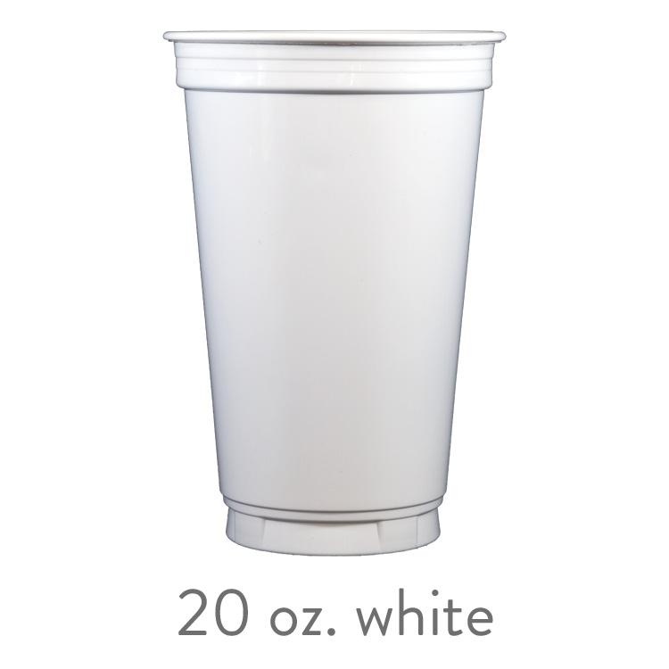 custom white solo cups 20 oz