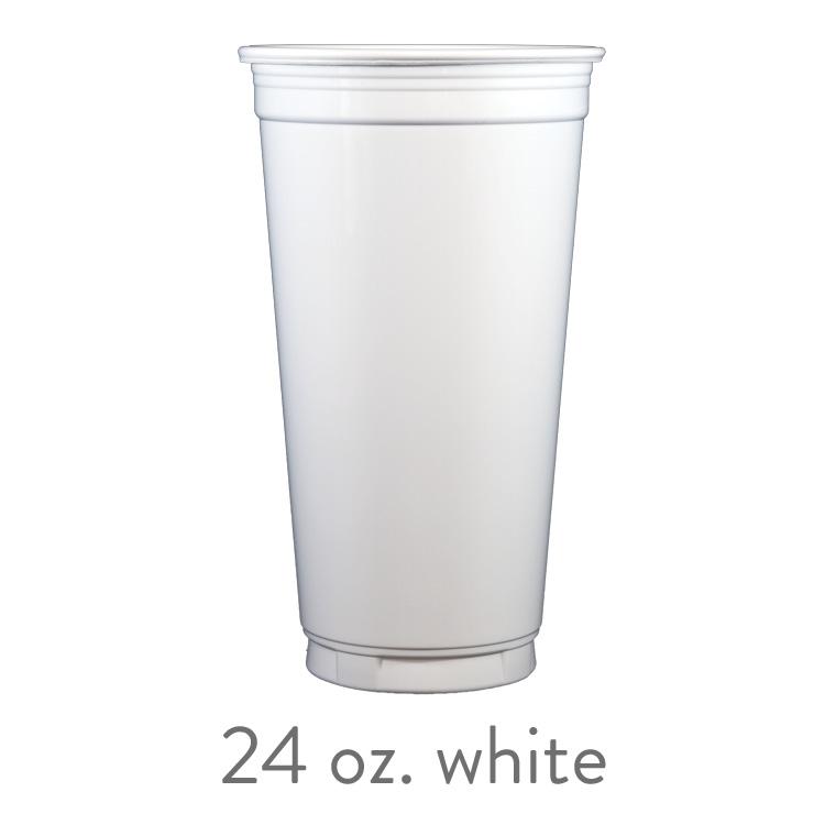 custom white solo cups 24 oz