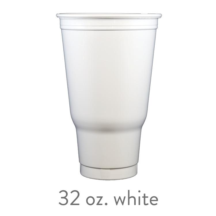 custom white solo cups 32 oz