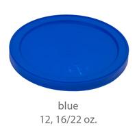 blue stadium cup plastic  lids 12oz 16oz 22oz