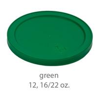 green stadium cup plastic  lids 12oz 16oz 22oz