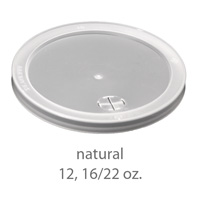 natural stadium cup plastic  lids 12oz 16oz 22oz