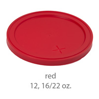 red stadium cup plastic  lids 12oz 16oz 22oz
