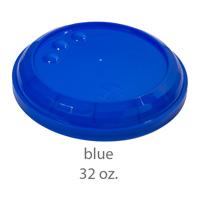 blue stadium cup plastic lids 32oz