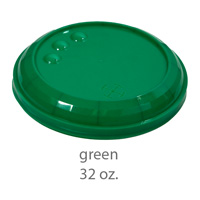 green stadium cup plastic lids 32oz