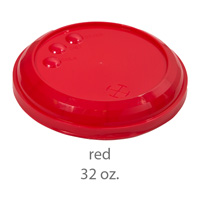 red stadium cup plastic lids 32oz