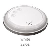 white stadium cup plastic lids 32oz