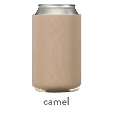 camel neoprene can koozie huggie