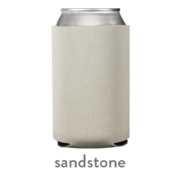 sandstone neoprene can koozie huggie
